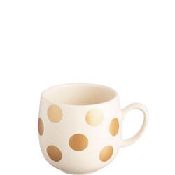 Gold Spot Cream Mug