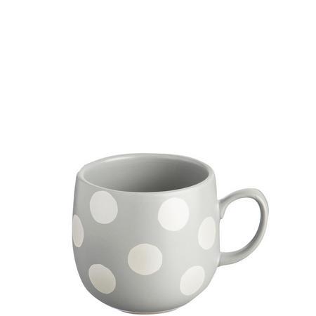 Silver Spot Grey Mug