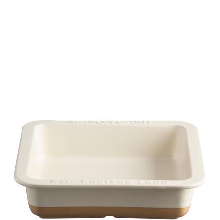 Cane Square Dish 24 cm