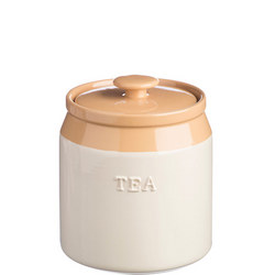 Cane Tea Jar