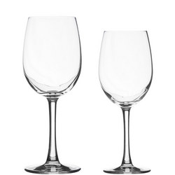 Finesse 12 Piece Stemware Set Clear