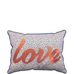 Roxy Blue Cushion