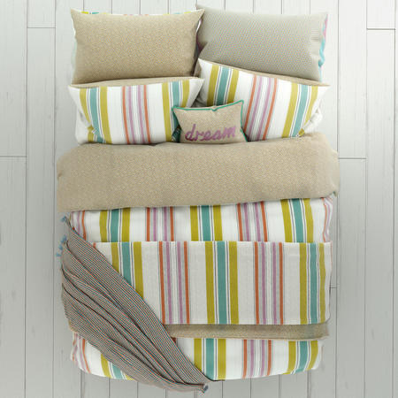 Roxy Green Duvet Cover Set