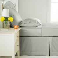300 Thread Count Base Valance Sheet Silver