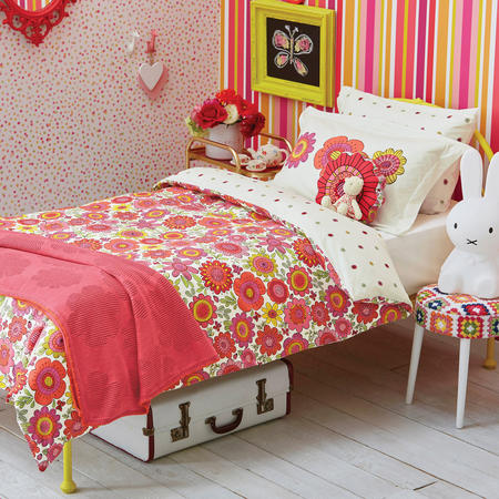 Blooming Lovely Childrens Coordinated Bedding Set