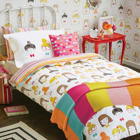 Hello Dolly Childrens Coordinated Bedding Set