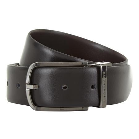 Owen Reversible Belt Grey