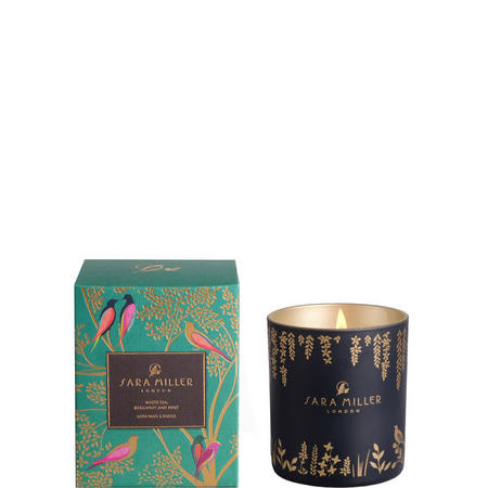 White Tea Bergamot And Mint Candle