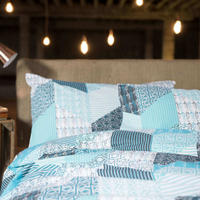 Coastal Patch Duvet Cover Set