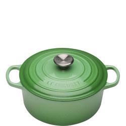 Signature Rosemary Round casserole Green 24 cm