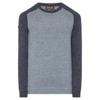 Premium City Crew Neck Sweater Blue