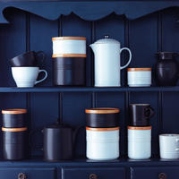 Stoneware Grand Mug Black