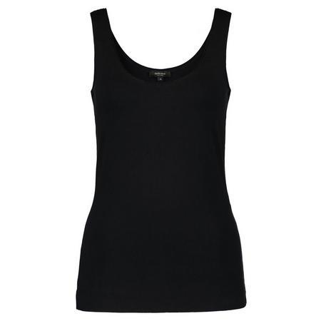 Basic Vest Top Black