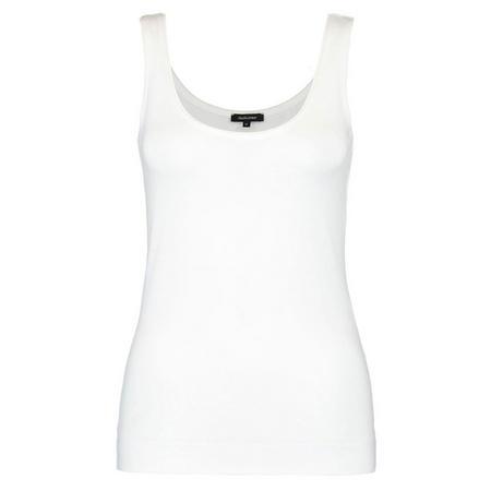 Basic Vest Top White