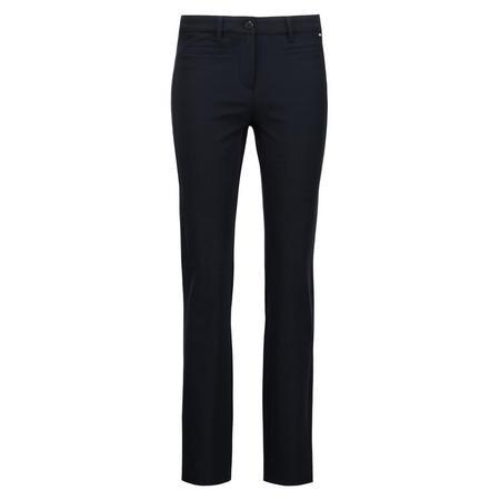 Slim Fit Zip Pocket Trousers Navy