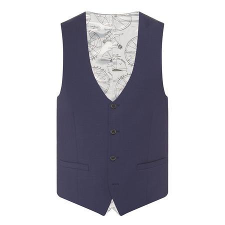 Lazio Waistcoat Blue