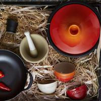 Set of 3 Stoneware Rice Bowls