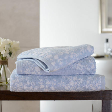 Butterfly Towel Blue