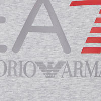 Logo Print T-Shirt Light Grey