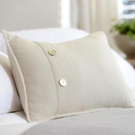 St Tropez Natural Cushion 30 x 40cm