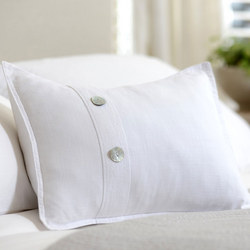 St Tropez White Cushion