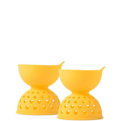 2 Piece Silicone Egg Poaching Set