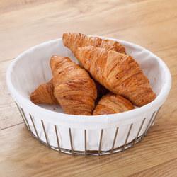 Wire Round Bread Basket 24Cm Dia Stainless Steel