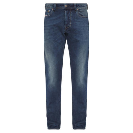 Larkee Straight Fit Jeans Mid-Blue Wash
