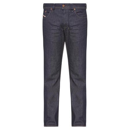 Larkee Straight Fit Jeans Dark Blue Wash