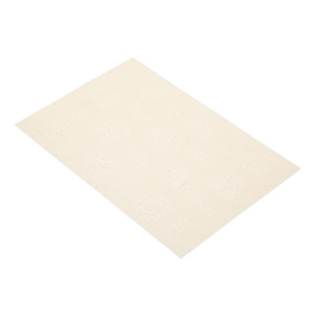 Woven Cream Square Placemat Cream