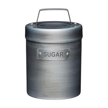 Vintage Style Metal Sugar Canister
