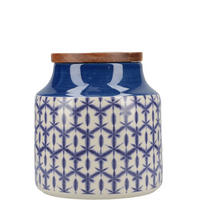 Drift Storage Jar Blue
