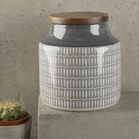 Drift Storage Jar Grey