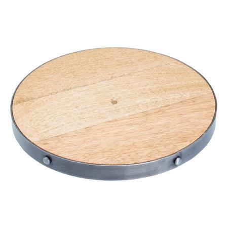 Round Wooden Trivet