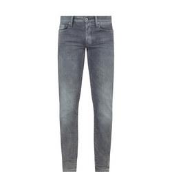 3301 Slim Jeans Grey