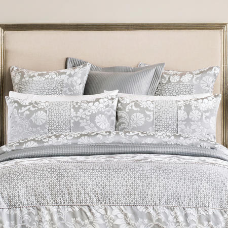 Villers Square Pillowcase Silver