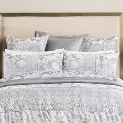 Villers Square Pillowcase Silver