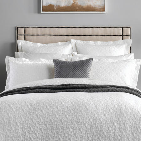 Otterson Square Pillowcase White