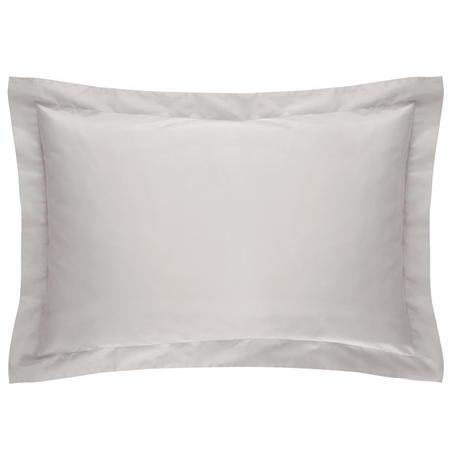 500tc Cotton Sateen Pillowcase Silver