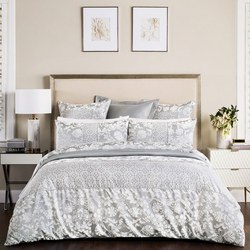 Villers Silver Coordinated Bedding