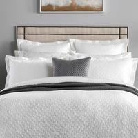 Otterson Duvet Cover White