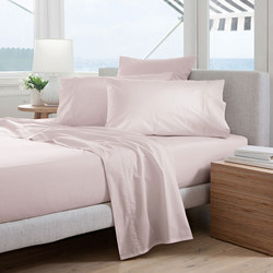 300tc Percale Fitted Sheet Thistle