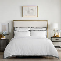 Edington Duvet Set Grey