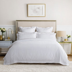 Columbus Duvet Set White