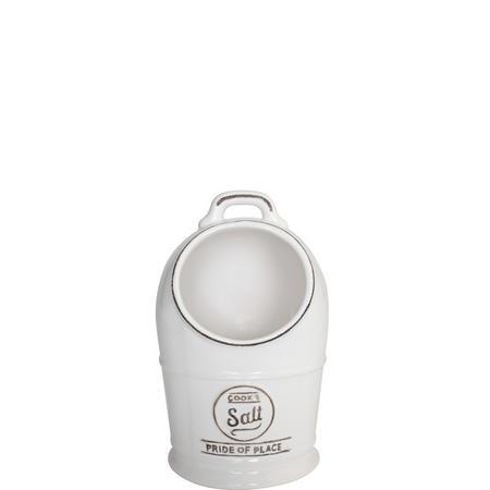Pride Of Place Salt Jar White