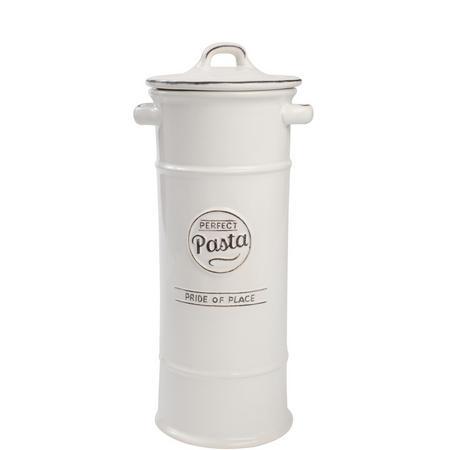 Pride Of Place Pasta Jar White