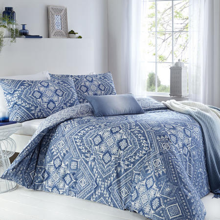 Adirah Duvet Set Blue