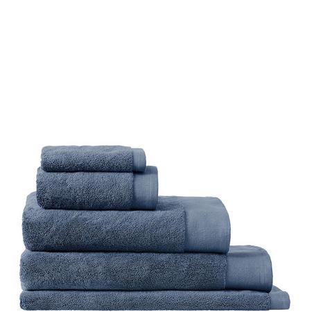 Luxury Retreat Collection Hand Towel Smokey Blue