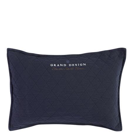 Classic Quilt Cushion Navy