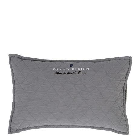 Classic Quilt Cushion Grey